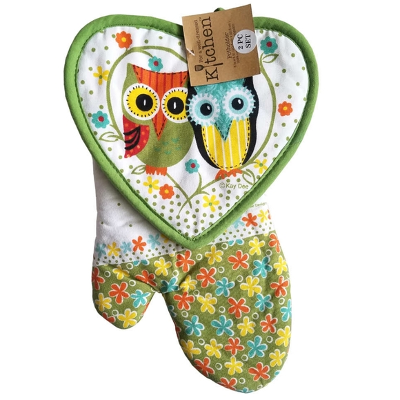 Kay Dee Designs Other - 🆕Kay Dee Designs Life's a Hoot Owl Kitchen Set